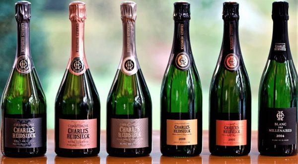 Le gamme de champagnes Charles Heidsieck en 2019