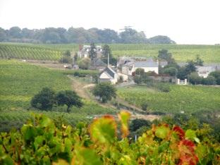 Le hameau de Chaume en Anjou