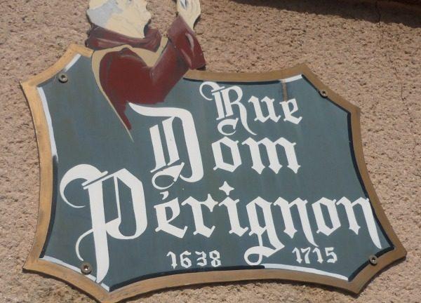 Hautvillers (Champagne), village de Dom Pérignon