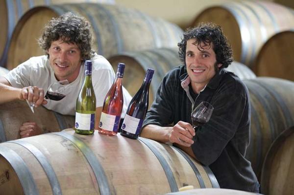 Vincent et Alban Orion vignerons récoltants du Domaine de la Barbinière
