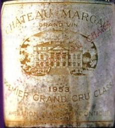 Château Margaux 1953