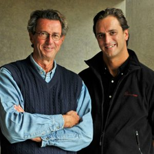 Christian et Edouard Moueix