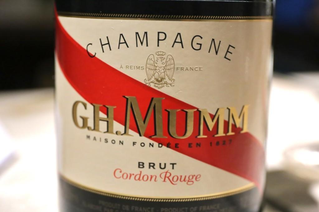 Mumm, Cordon Rouge, symbole de la Maison