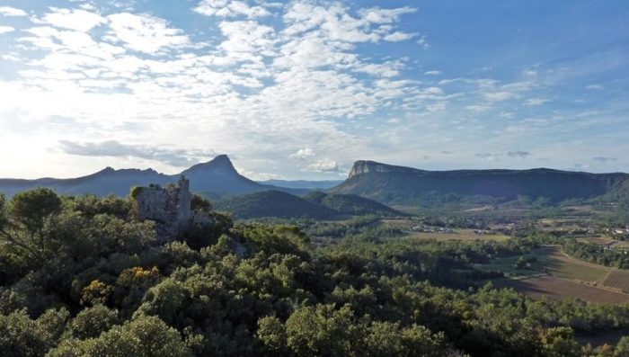 Le pic Saint-Loup