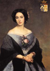 C'est elle Virginie, Comtesse de Lalande qui décida au milieu du XIXe siècle d'administrer elle-même son vignoble et celui de ses soeurs.