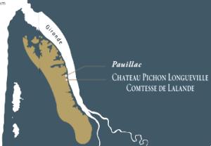 Carte Pichon Longueville Comtesse de Lalande (Pauillac)