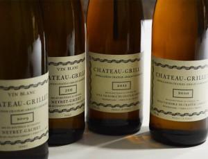 Grillet (Château Grillet) appellation monopole Côtes du Rhône septentrionales