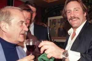Jean Carmet et Gérard Depardieu,