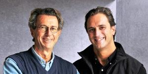 Christian et Edouard Moueix (son fils) à la tête de Trotanoy