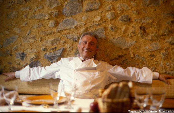 Michel Guerard, chef trois étoilés à Eugénie-les-Bains