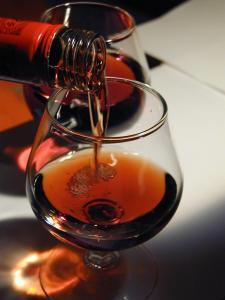 Vin rouge tuilé