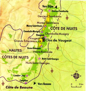 Bourgogne Côte de Nuits Vougeot