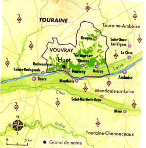 Carte de Vouvray
