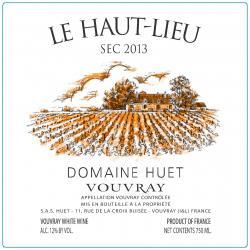 Huet (domaine Huet) Vouvray (Loire)