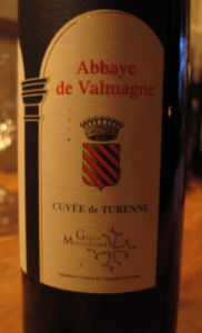 Vin de l'abbaye de Valmagne, Cuvée de Turenne