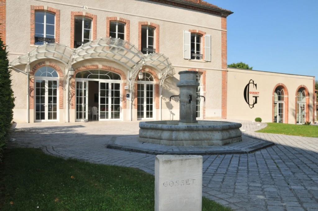 La Maison Gosset dont le siège est maintenant à Epernay