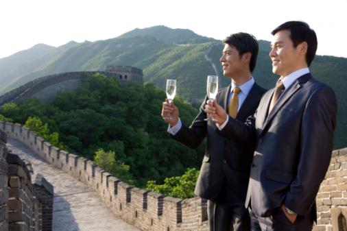Champagne en Chine