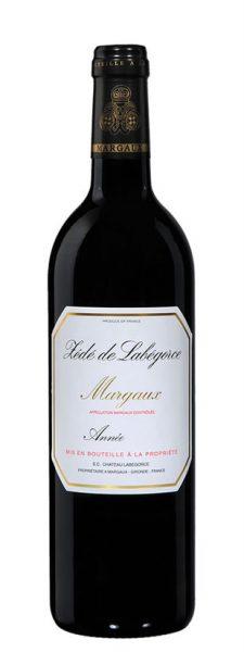 Zédé de Labégorce, second vin du château de Labégorce Margaux (Médoc)