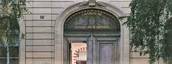 La Maison de champgne Louis Roederer à Reims
