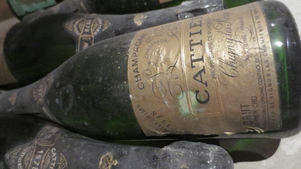 Millesime 1978 Champagne Cattier
