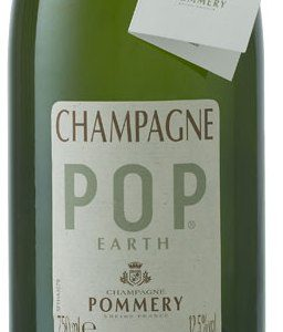 Champagne Pop earth de Pommery