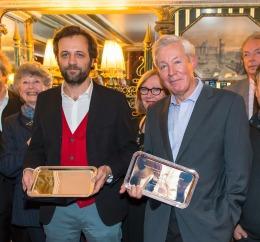 Prix Amunategui-Curnonsky 2014 remis à François Collombet du site dico-du-vin.com