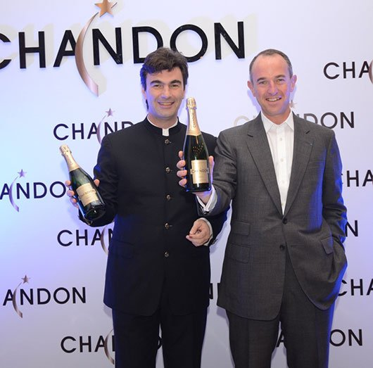 Bruno-Yvon-with-Jean-Guillaume-Prats-at-the-unveiling-of-Chandon (1)