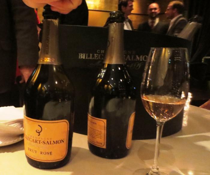 Champagne billecart-Salmon à l'Hôtel Hyatt Paris Madeleine lors de la remise du prix du Grand Chef de demain