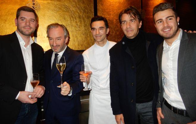 Remise du prix du Grand Chef de demain 2016 à l'Hôtel Hyatt