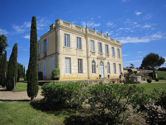 Château Birot en appellation Cadillac Côtes de Bordeaux (photo Maxwell-Storrie-Baynes)