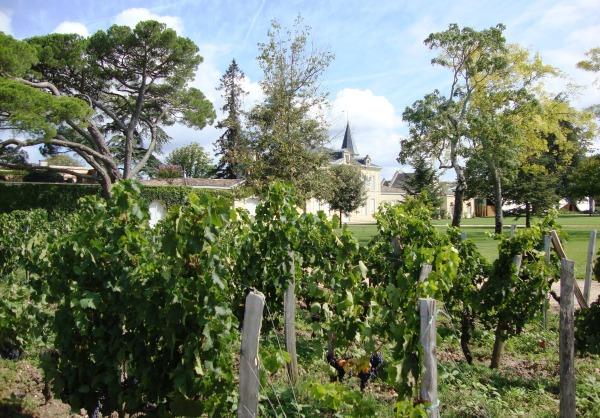 Château Cheval Blanc à saint-Emilion