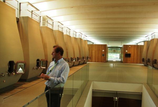Cheval Blanc, l'intérieur du nouveau chai