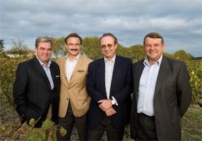 Olivier Bernard, Stephen von Neipperg, Robert Peugeot et Xavier Planty