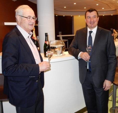 Emmanuel Mercier et Christophe Bonnefond à Paris