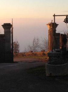 Portail du château de L'Etoile
