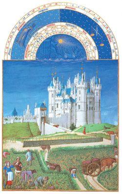 Septembre à Saumur au XVe siècle : le temps des vendanges