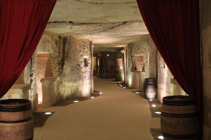 Caves troglodytes des vignerons de Panzoult