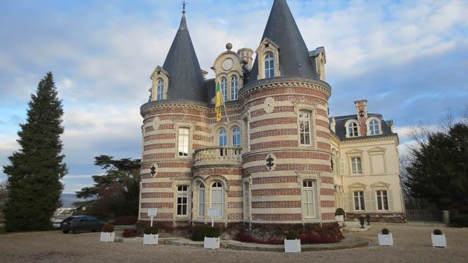 Château de Pékin : Champagne Comtesse Lafond