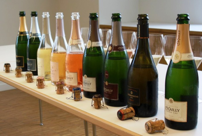 La gamme des champagnes Mailly Grand Cru