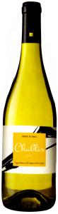 """Dans la gamme permanente, une bouteille de Chablis """"relookée"""" en 2015"""