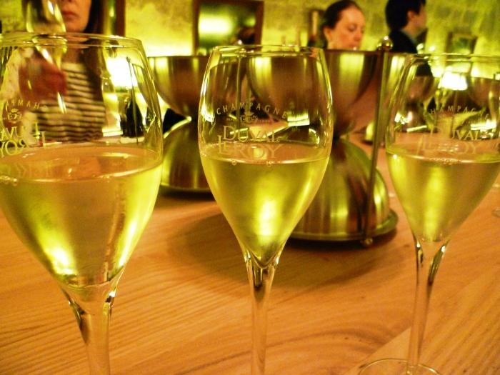 Champagne sur mesure : vins clair récolte 2014