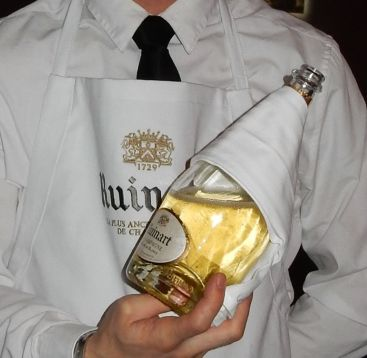 Champagne Ruinart Blanc et Blancs