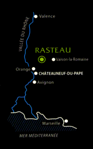 Carte Rasteau