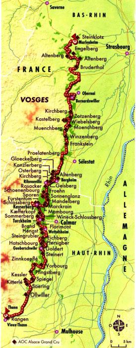 Carte Alsace Bergheim.Alsace Les Vins D Alsace Dico Du Vin Le Dictionnaire Du Vin
