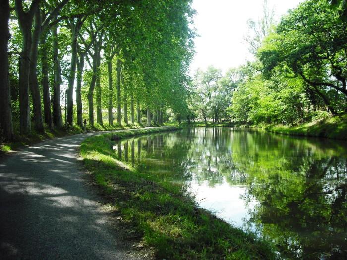 Canal du Midil à Cabardès