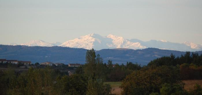 Le Cabardès, balcon sur les Pyrénées
