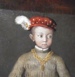 Henri IV jeune, né en 1553 à Pau