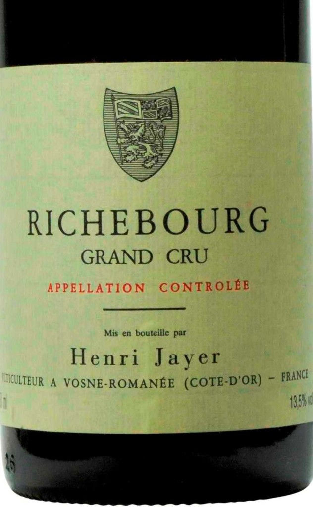 Richebourg Henri Jayer