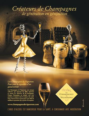 Les Champagnes des vignerons