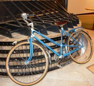 La bicyclette bleue de tante Lily.